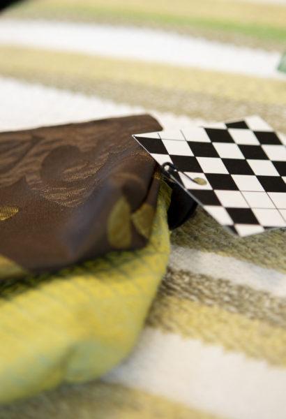 Pochette tissu doublée avec fermeture éclaire - 3 grandeurs différentes, motifs variés