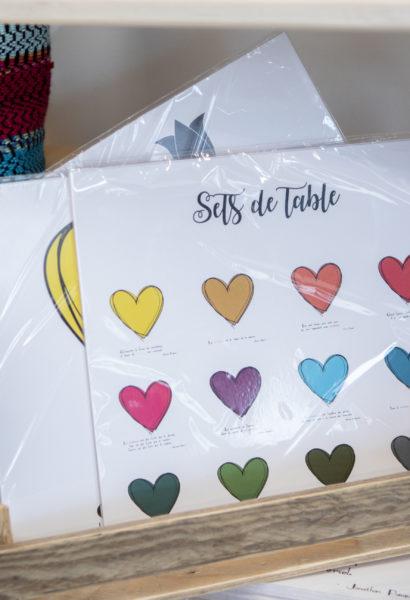 Set de table - différents motifs